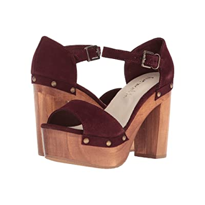 Cordani Tulum (Wine Suede) High Heels