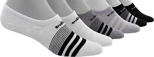 Adidas Women's Super No Show 6 Pair Climate Socks