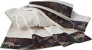 HiEnd Accents Camo Towel Set, Cream
