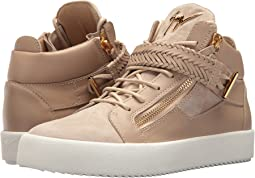 Giuseppe Zanotti May London Braided Mid Top Sneaker