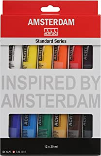 Amsterdam Acrylic Standard Series Paint Set 12x20milliliter