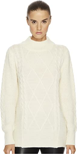 LAMARQUE - Oisin Cable Knit Sweater