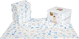 Baby PhD Multi-Use Disposable Changing Pads | Super Absorbent Mats for On-The-Go Clean-Ups | 25 Count