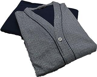 GERMINI Pigiama Uomo Giacca Cardigan Aperta con Bottoni E Tasche in Caldo Cotone BIP BIP Art.5989 dalla 4 alla 7 Prodotto ...