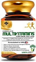 Mountainor Complete Multivitamins for Men and Women, Enriched with Natural Extracts, Minerals, Antioxidants, Probiotics, N...
