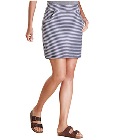 Toad&Co Samba Luna Skirt (True Navy Stripe) Women