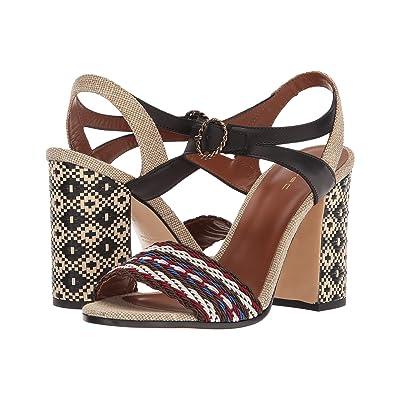 Etro Block Heel Sandal (Multi) Women