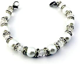 pearl medical id bracelet