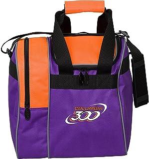 300 Bowling Products 300 Team Single Tote-Purple/Orange, Purple/Orange