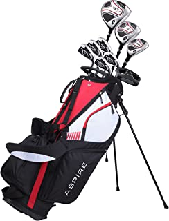 Premium Men's Senior Complete Golf Club Set Right Handed, Senior Flex for Great Performance