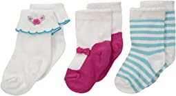 Kate Spade New York Kids - 3-Pack Socks Set (Infant)