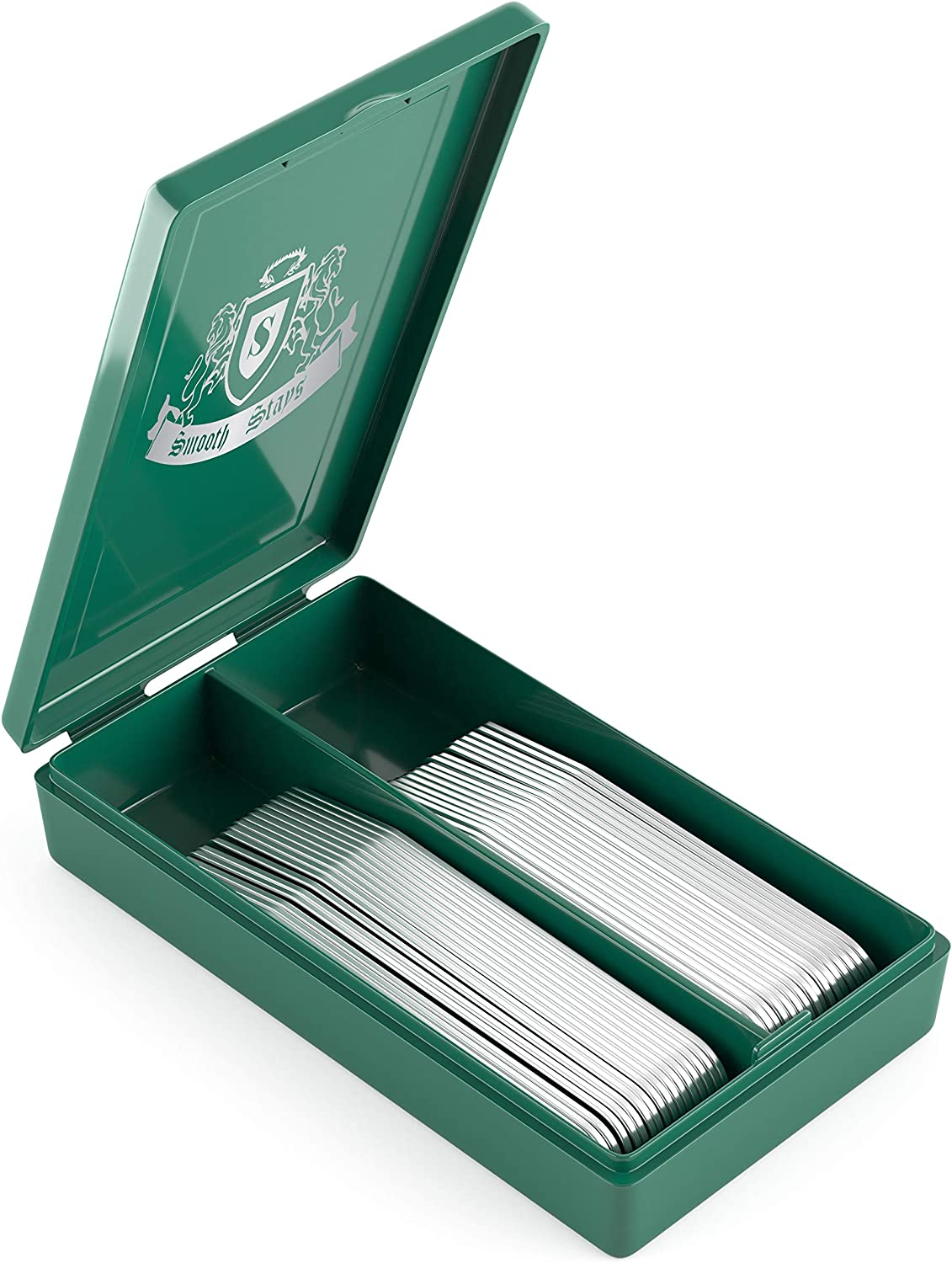 36 Premium Metal Collar Stays in a Plastic Box, Order the Sizes You Need