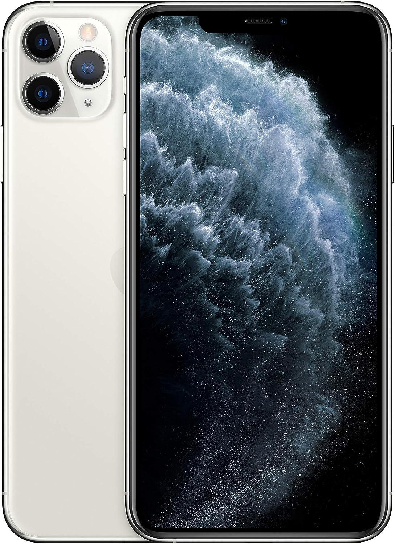 Apple iPhone 11 Pro Max 64GB - Plata - Desbloqueado (Reacondicionado)