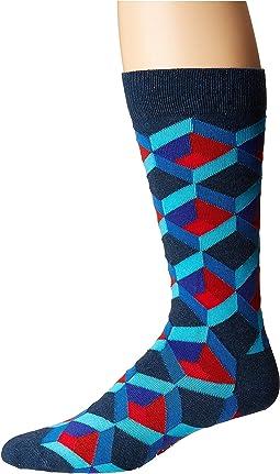 Optic Square Sock