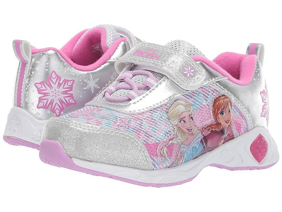 Josmo Kids Frozen Sneaker (Toddler/Little Kid) (Silver) Girls Shoes