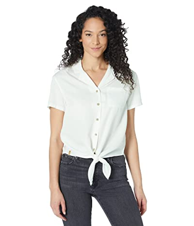 tentree Meander Tie Front Shirt