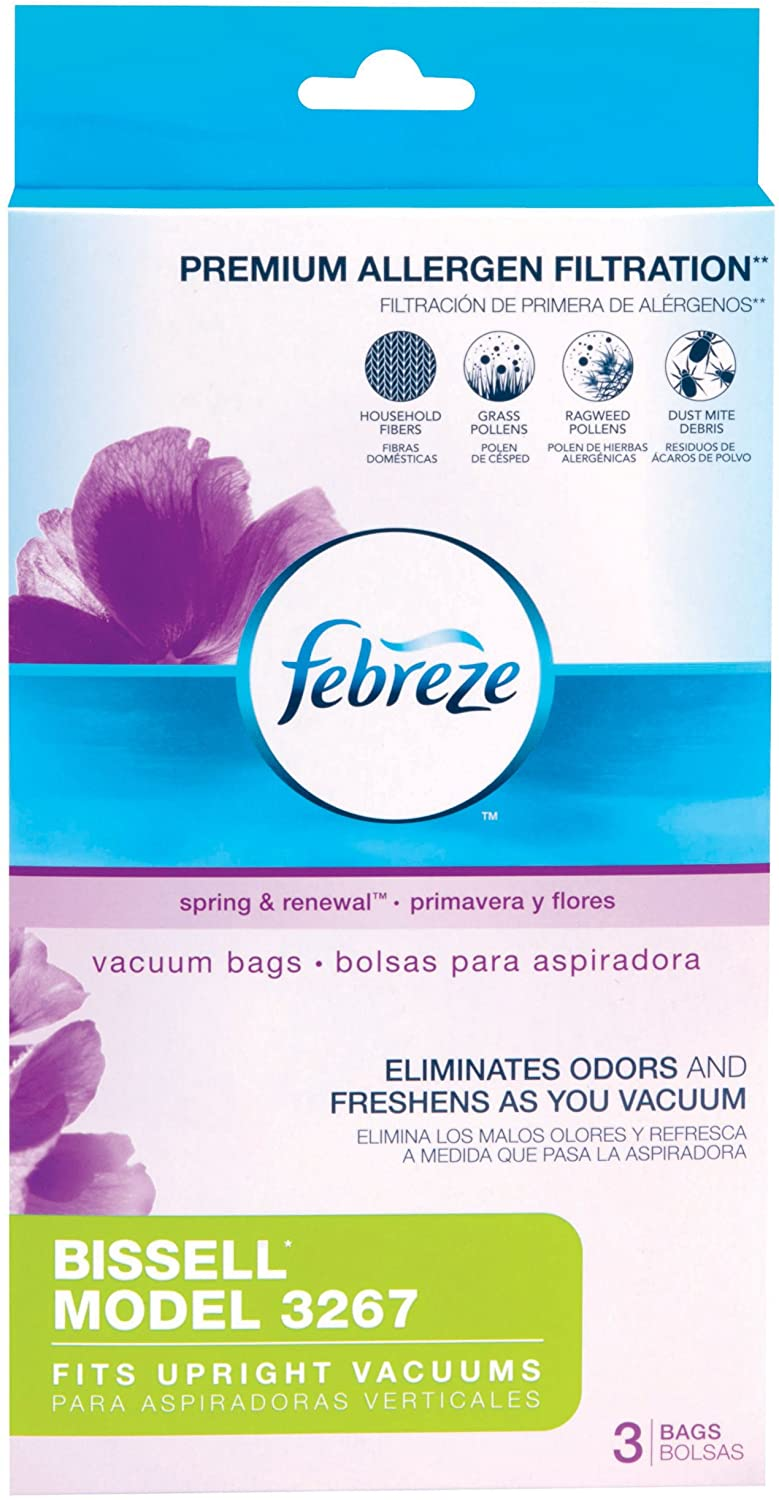 Febreze BISSELL Style 3267 Ranking TOP12 Vacuum Bags OFFicial 3 Count