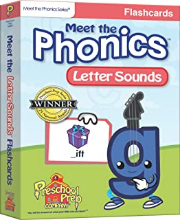 Meet the Phonics - Letter Sounds - Flashcards