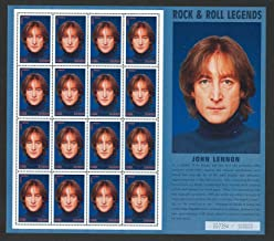 John Lennon, Beatles Limited Edition Collectible Postage Stamps Ghana 1851