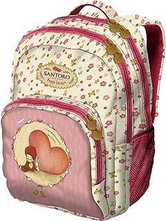 Mochila 3 compartimentos Pequeña - Santoro - Poppi Loves - Heart