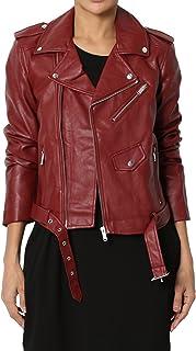 TheMogan Faux Leather Motorcycle Biker Slim Fit Short Coat Jacket Many Styles