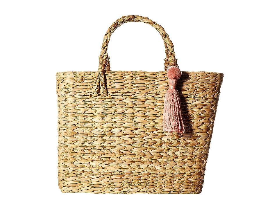 ab357f3202e1 Circus by Sam Edelman Paper Straw Basket Handbag (Natural) Satchel Handbags