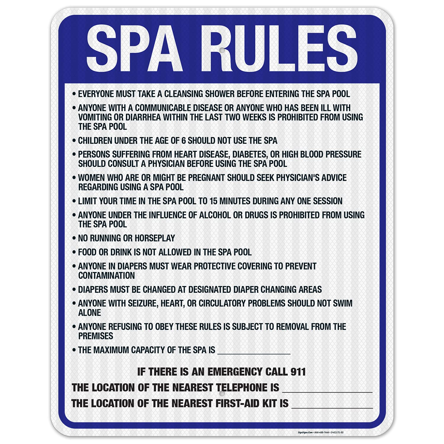 Washington Spa Rules Sign Complies Poo State Classic Charlotte Mall of with