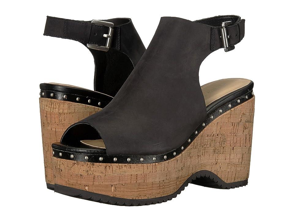 Chinese Laundry Trinity Sandal (Black Leather) Women