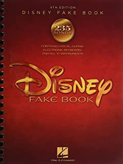 The Disney Fake Book - 4th Edition: Pvg, Keyboard and All C Instruments