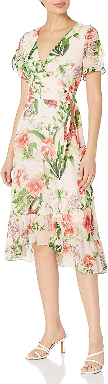Spasm price Karl Lagerfeld Paris Women's Sleeve Midi Dress Short Indefinitely