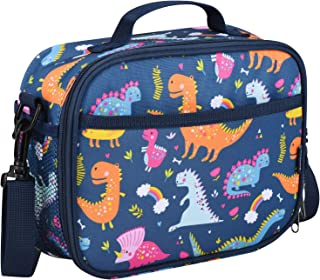 Momcozy Kids Lunch Bag, Insulated Lunch Kit for School and Travel, Compatible with Most Kids Lunch Box like Bentgo, DaCool, Bento, etc.(Dinosaur)