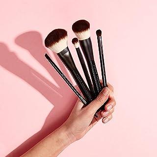 NYX Professional Makeup Borstelset, premium synthetisch gezichtspoeder, blending blush, oogschaduwkwast, make-up-kwast, se...