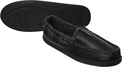 Refinery Memory Foam Slippers Moccasin Manchester