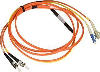 Tripp Lite Fiber Optic Mode Conditioning Patch Cable (ST/LC), 2M (6-ft.)(N422-02M)