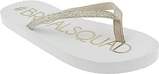 Best bride squad flip flops Reviews