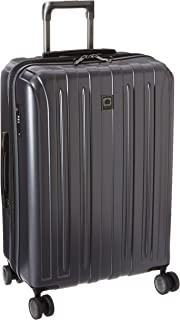 "DELSEY Paris Luggage Helium Titanium 25"" Spinner Trolley Hard Case Suitcase, Graphite, One Size"