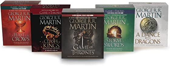 George R. R. Martin Song of Ice and Fire Audiobook Bundle: A Game of Thrones (HBO Tie-in), A Clash of Kings (HBO Tie-in), ...