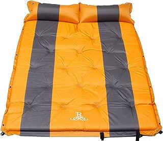 Self Inflating Mattress Sleeping Mats Air Bed Camping Hiking Joinable w/Pillow