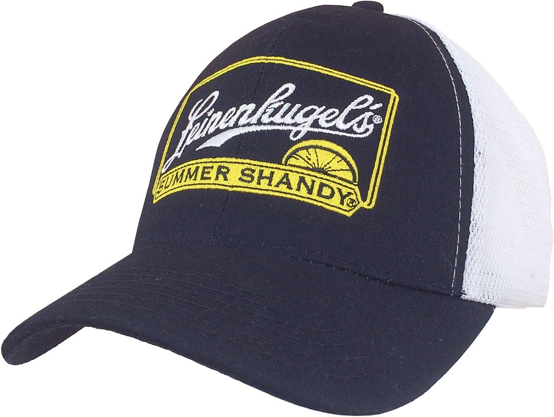 Tee Luv Leinenkugel's Summer Shandy Trucker Hat (Navy Blue/White)