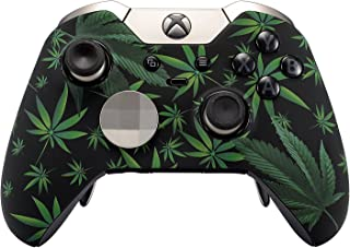 420 Black Rapid Fire Custom Modded Controller Compatible with Xbox One Elite 40 Mods for All Major Shooter Games, Auto Aim, Quick Scope, Auto Run, Sniper Breath, Jump Shot, Active Reload & More