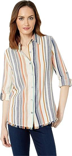 Fringe Button Up Shirt