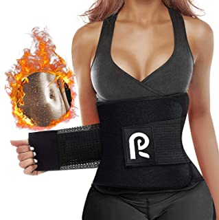 SHSTFD Waist Trimmer Belt, Premium Neoprene Waist Trainer Corset for Women Men Weight Loss, Sport Girdle Sweat Workout Slimming Body Shaper Sauna Exercise