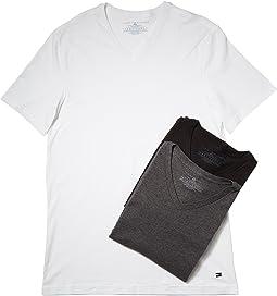 Tommy Hilfiger - Cotton V-Neck Shirt 3-Pack