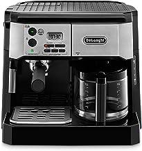 De'Longhi BCO430BM Combination Pump Espresso and 10c Drip Coffee Machine with Advanced Cappuccino System (Renewed)