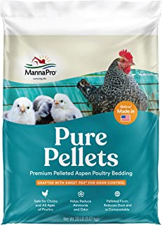 Manna Pro Pure Pellets Poultry Bedding with Sweet PDZ, 20lb