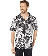 Mono Jungle Floral Print Shirt
