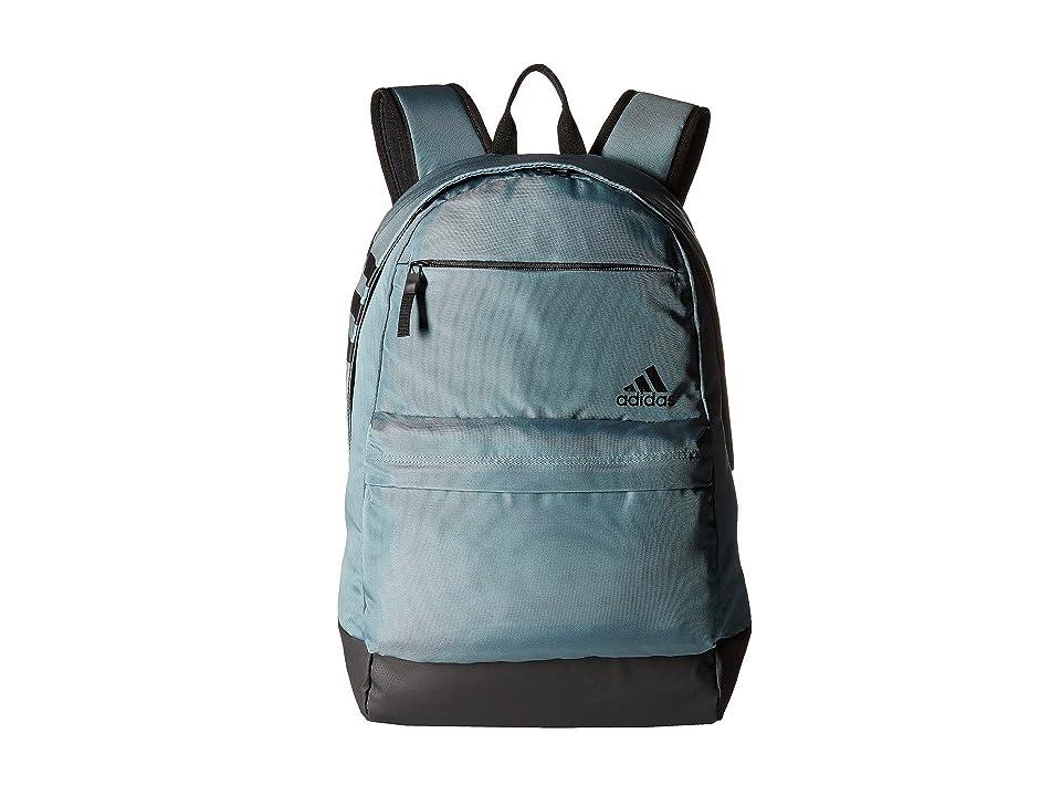 adidas Daybreak II Backpack (Raw Green/Black) Backpack Bags