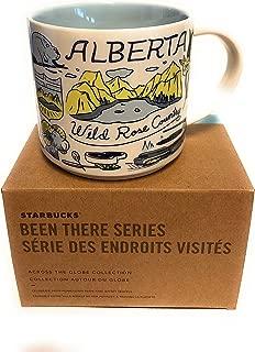Starbucks ALBERTA, CANADA Been There Series Collection 14 oz Coffee Mug