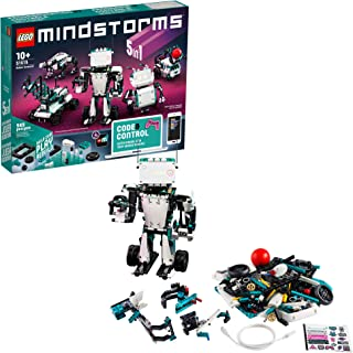 LEGO MINDSTORMS Robot Inventor Building Set 51515; STEM Toy for Kids with Remote Control Robots; Inspiring Code and Control Edutainment Fun, New 2020 (949 Pieces)