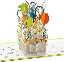 Hallmark Signature Paper Wonder Pop Up Congratulations or Birthday Card (Celebrate)